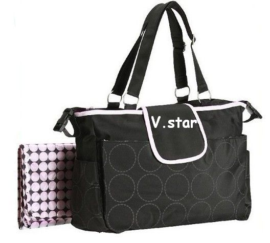 Multi-Use Luxury Diaper Bag